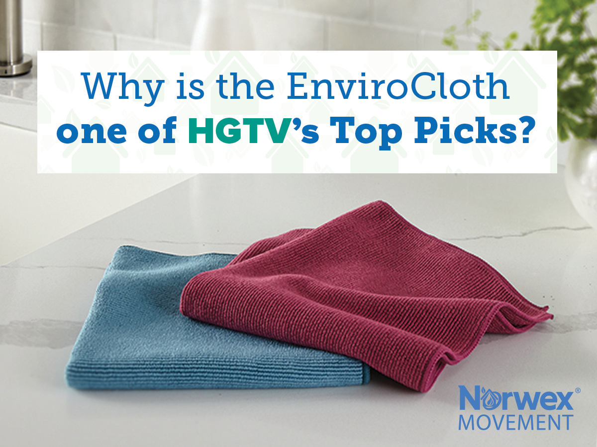 Why is the EnviroCloth one of HGTV's top picks?